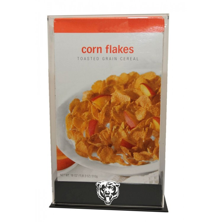 Chicago Bears 18 oz. Cereal Box Display