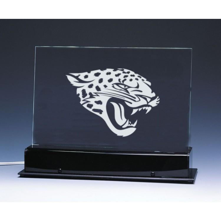 Jacksonville Jaguars Team Logo Edge Light