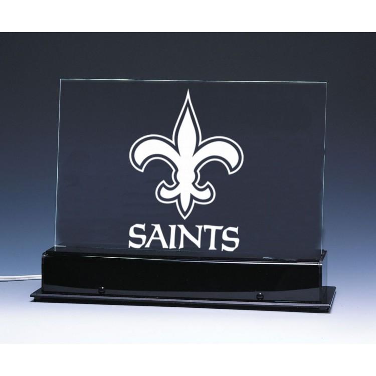 New Orleans Saints Team Logo Edge Light