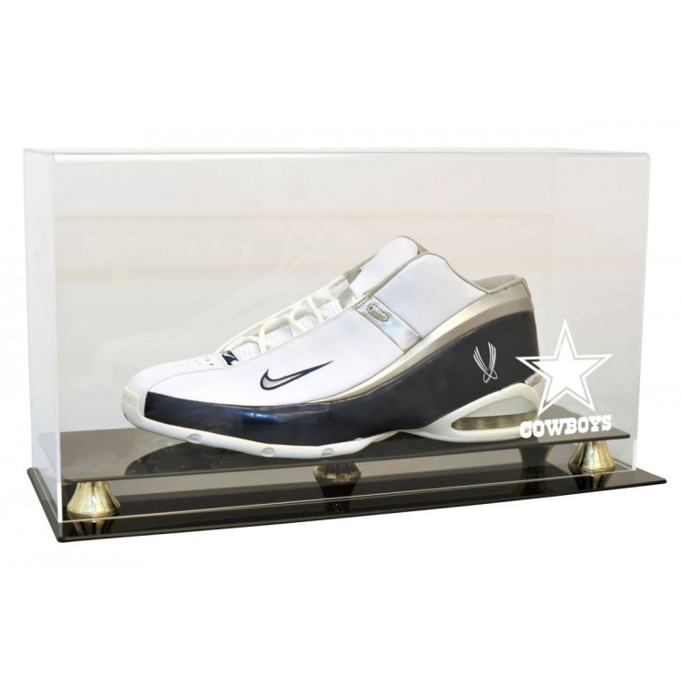 Dallas Cowboys Single Shoe Display Case - Size 13