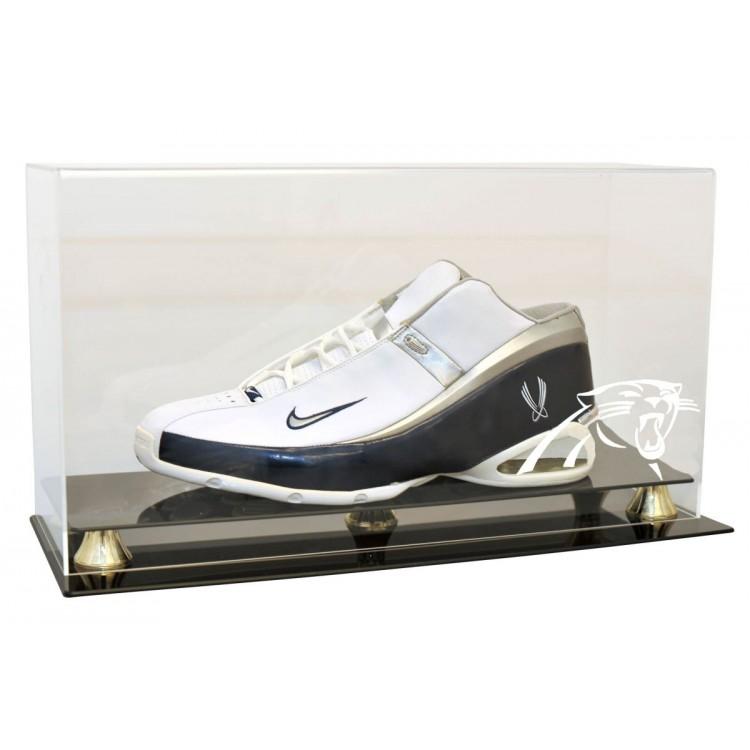Carolina Panthers Single Shoe Display Case - Size 23