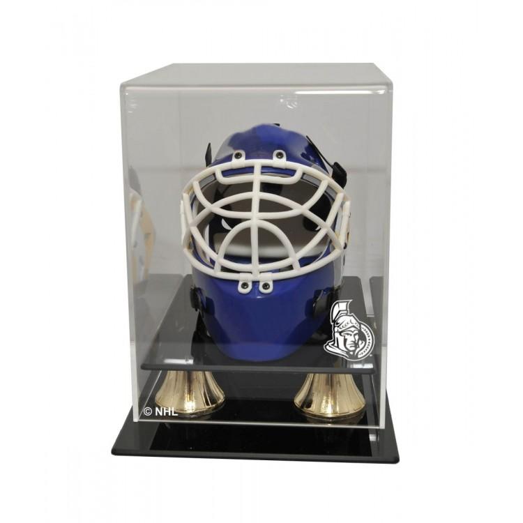 Ottawa Senators Mini Hockey Helmet Display