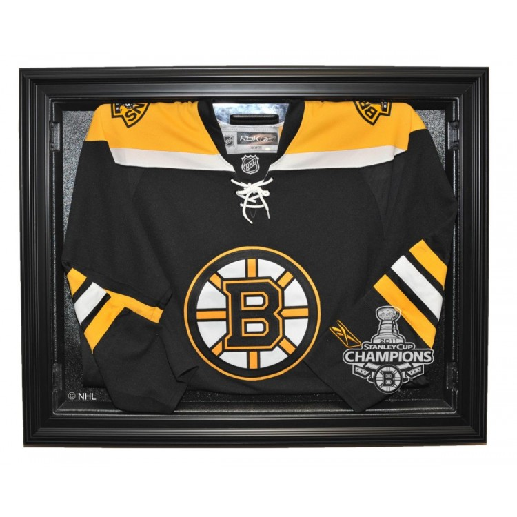 Boston Bruins Stanley Cup Champions Removable Face Jersey Case, Black