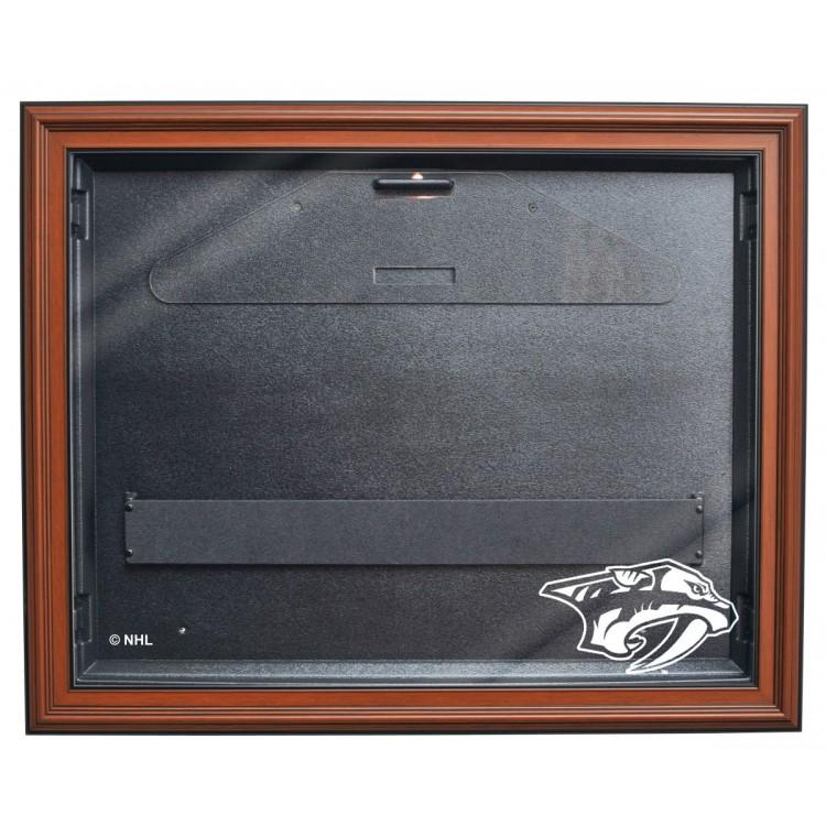 Nashville Predators E-Z Removable Face 3/4 View Jersey Display, Brown