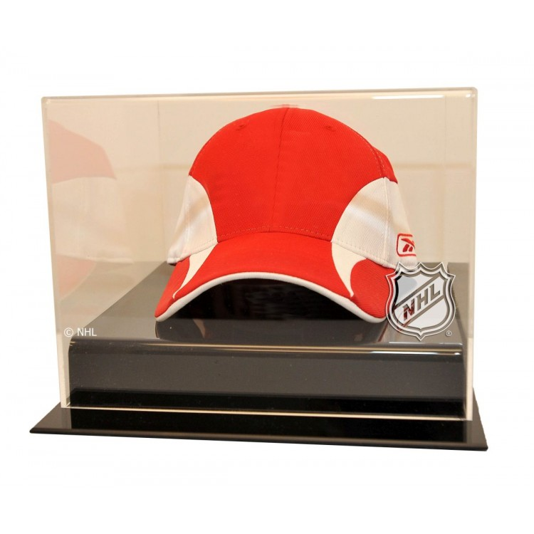 NHL Logo Hockey Cap Display