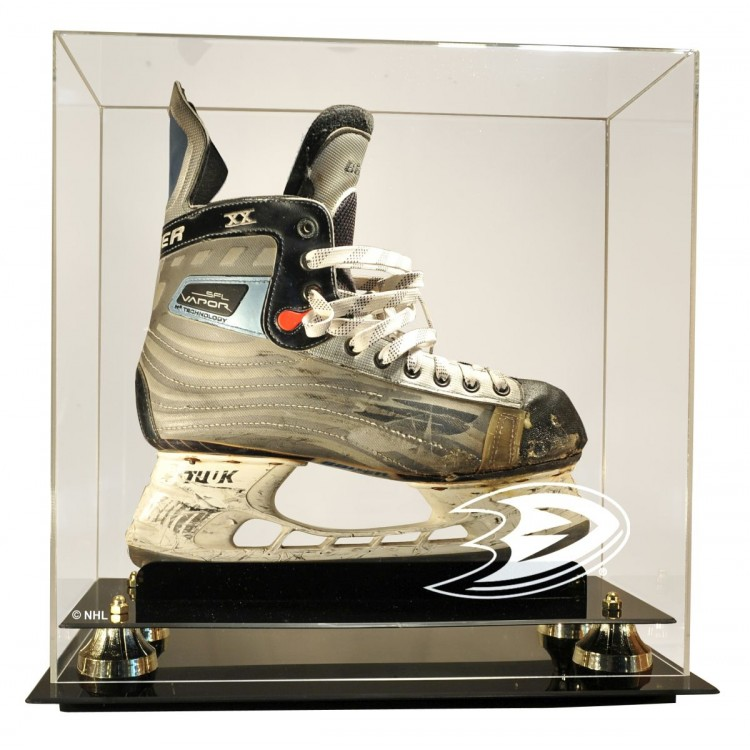 Anaheim Ducks Deluxe Single Skate Display Case