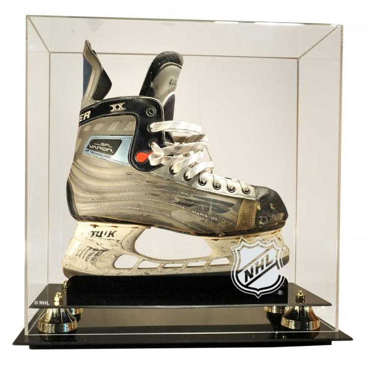 NHL Logo Deluxe Single Skate Display Case