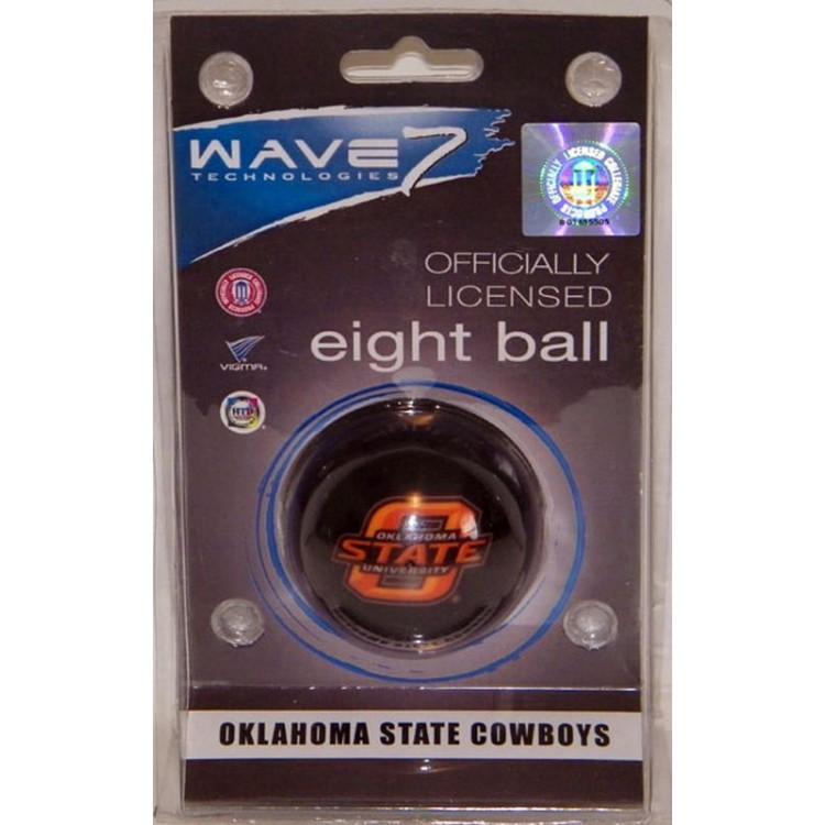 Oklahoma State Cowboys Eight Ball