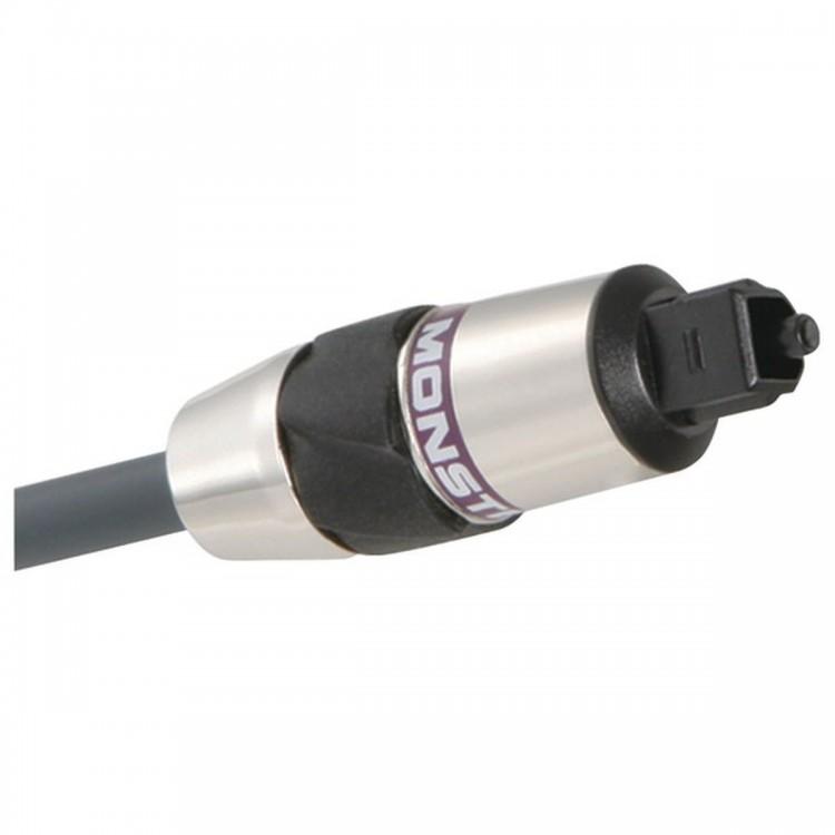 MONSTER CABLE MC 400DFO-2M Fiber Optic 400 Advanced-Performance Audio Cables (Model No. MC 400DFO-2M; 2 m)