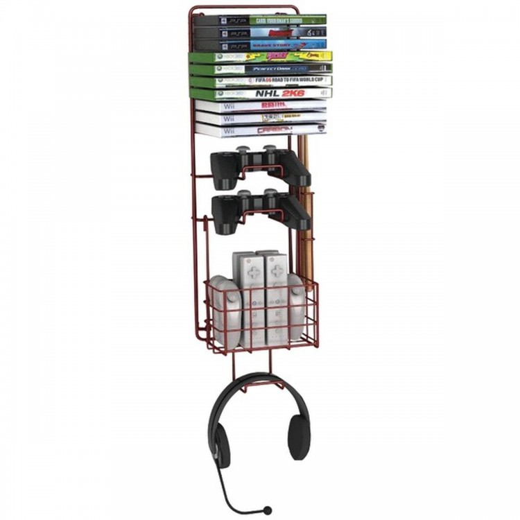ATLANTIC 38806137 Wall Mount Game Rack