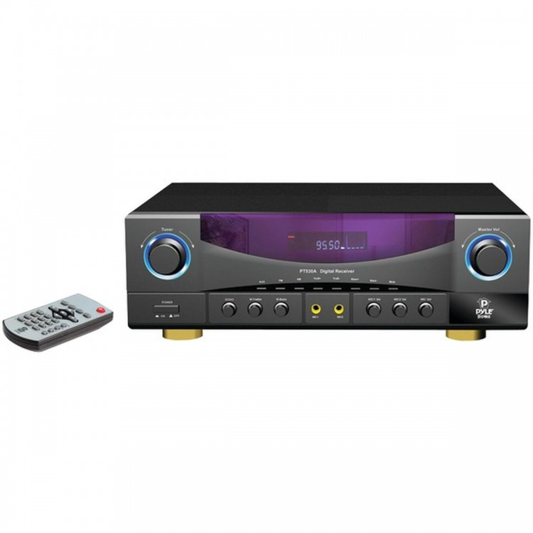 PYLE HOME PT530A 2-Channel, 350-Watt AM/FM Receiver