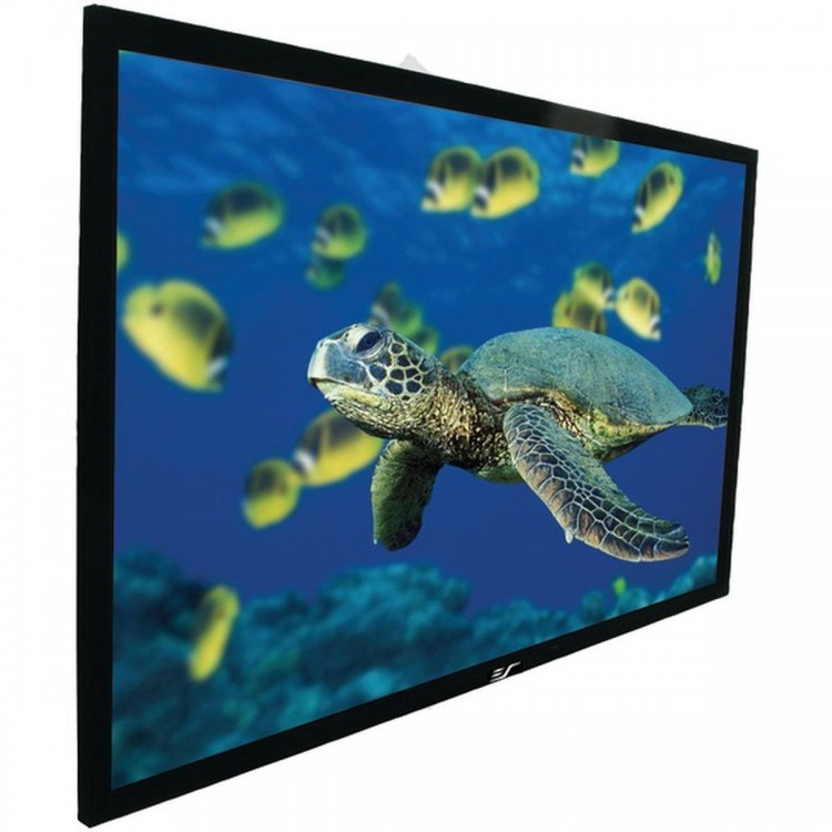 "ELITE SCREENS R106WH1 ezFrame Series Fixed Frame Screen (106""; 51.9"" x 92.2""; 16:9 HDTV Format)"