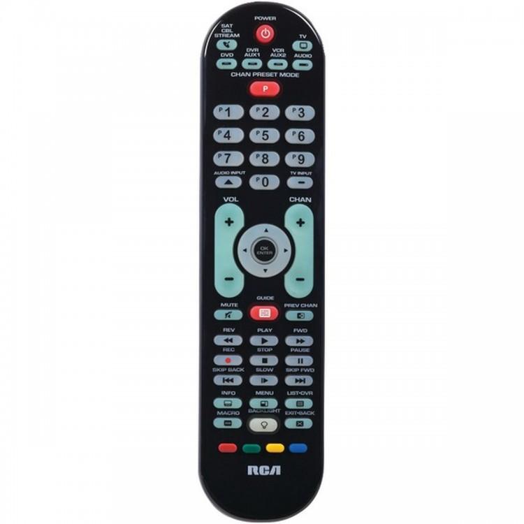 RCA RCRPS06GR 6-Device Backlit Universal Remote