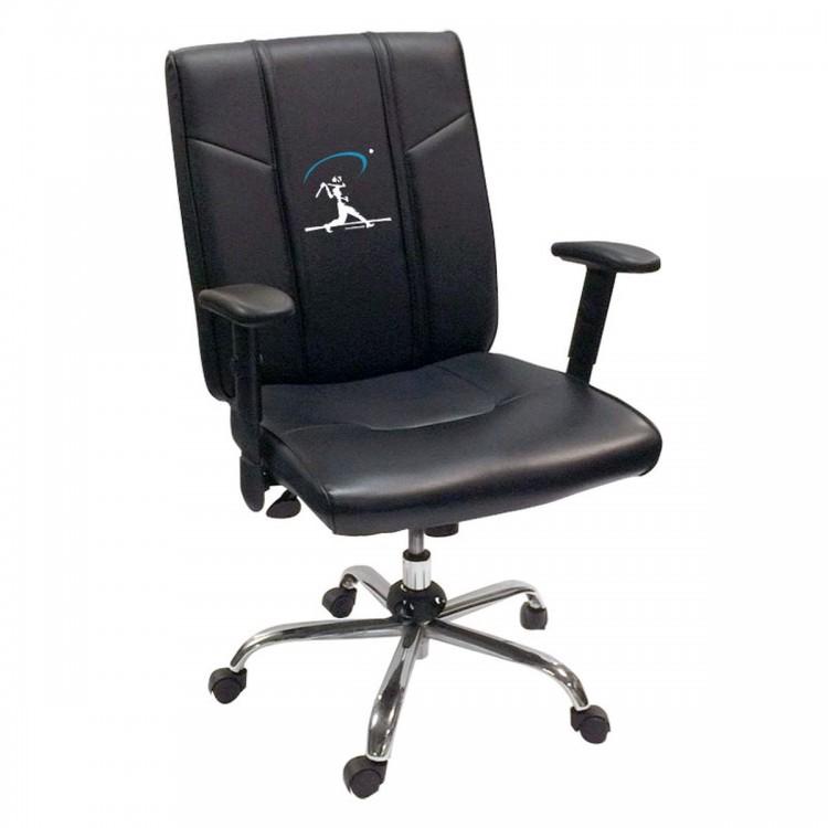 Baseball Home Run Swing Blue Office Chair 2000
