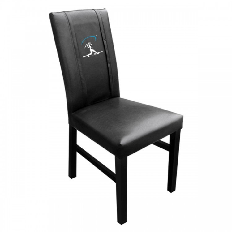Baseball Home Run Swing Blue Side Chair 2000