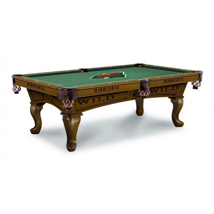 Minnesota Wild 7' Pool Table