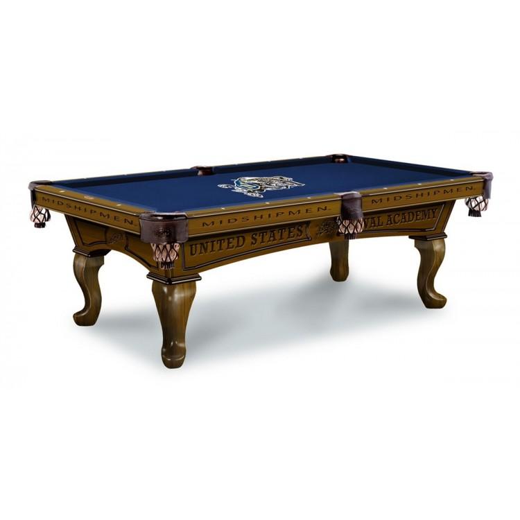 Navy Midshipmen 7' Pool Table