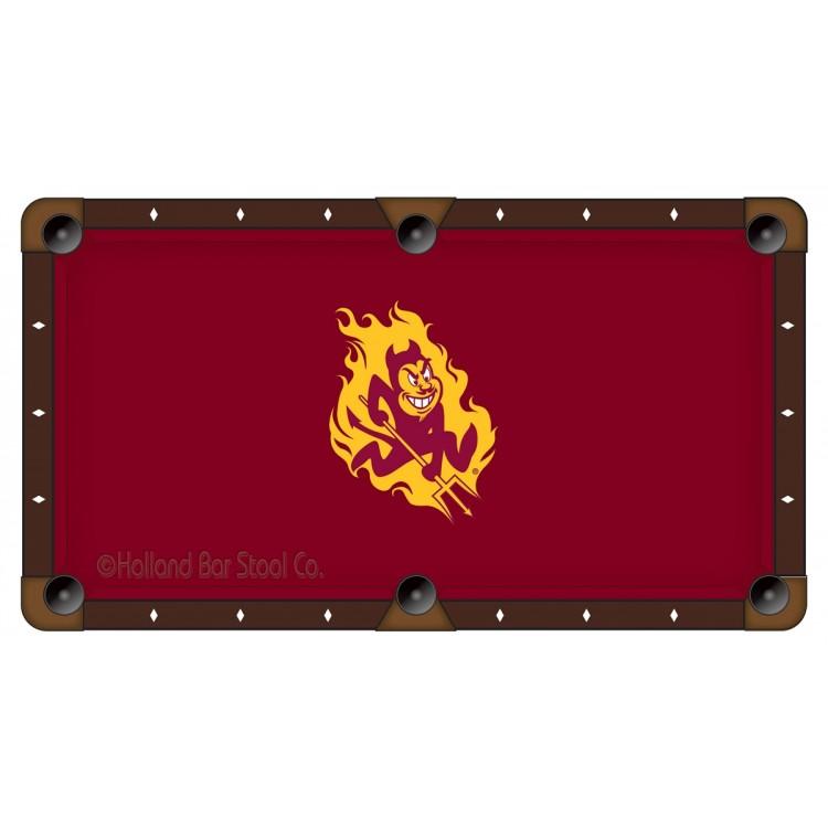 Arizona State Sun Devils 7' Pool Table Cloth