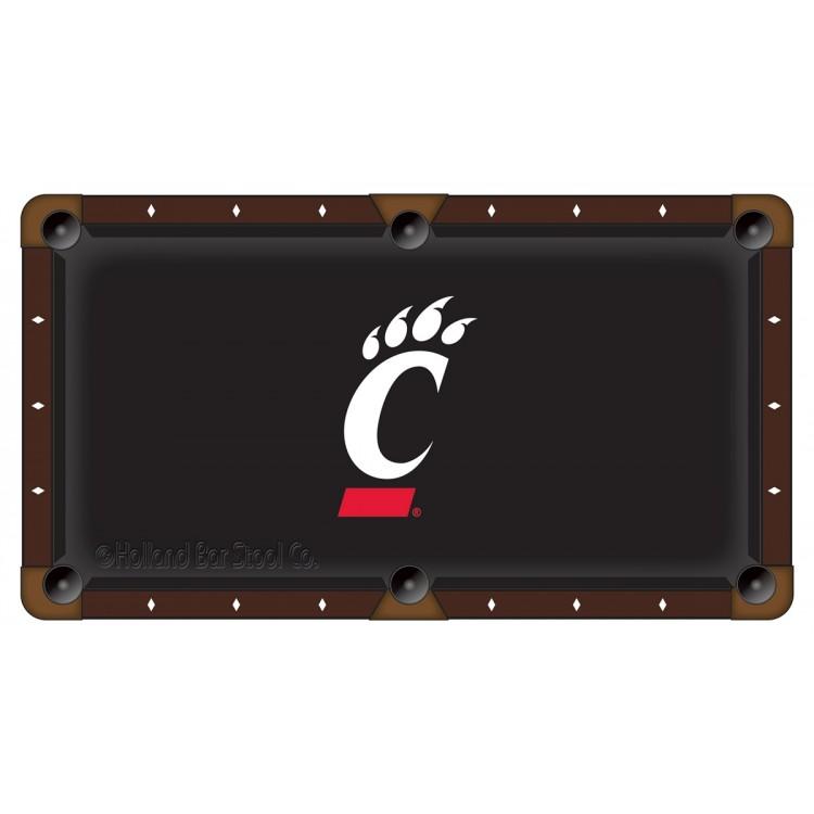 Cincinnati Bearcats 7' Pool Table Cloth