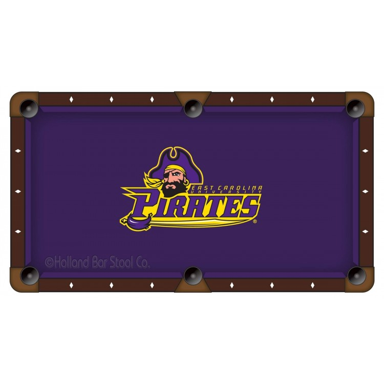 East Carolina Pirates 7' Pool Table Cloth