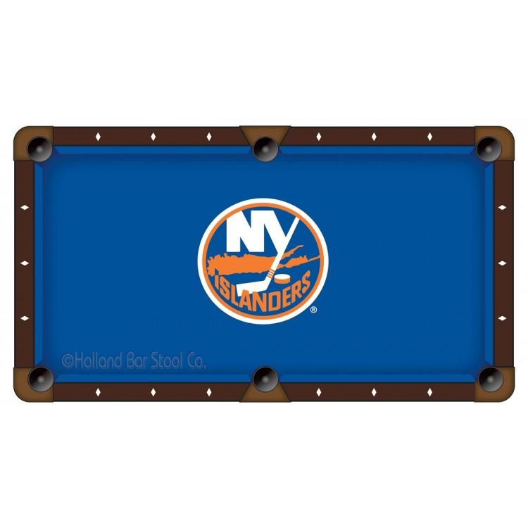 New York Islanders 7' Pool Table Cloth