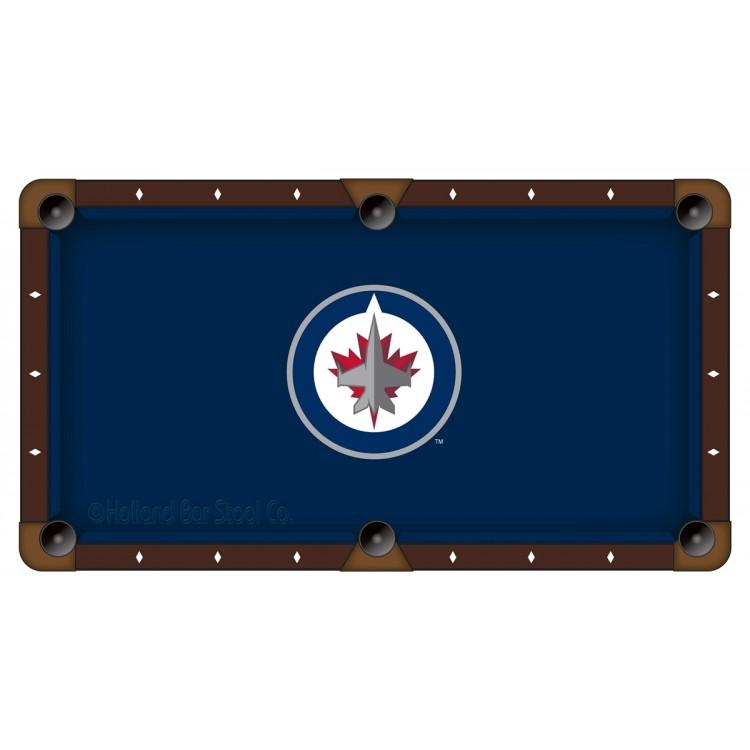 Winnipeg Jets 7' Pool Table Cloth
