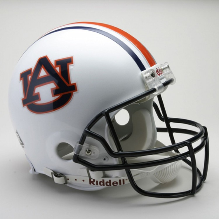 Auburn Tigers Riddell Full Size Authentic Proline Football Helmet+