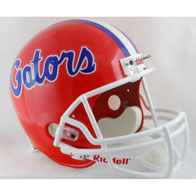 Florida Gators Riddell Full Size Deluxe Replica Football Helmet