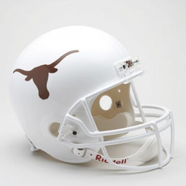 Texas Longhorns Riddell Full Size Deluxe Replica Football Helmet