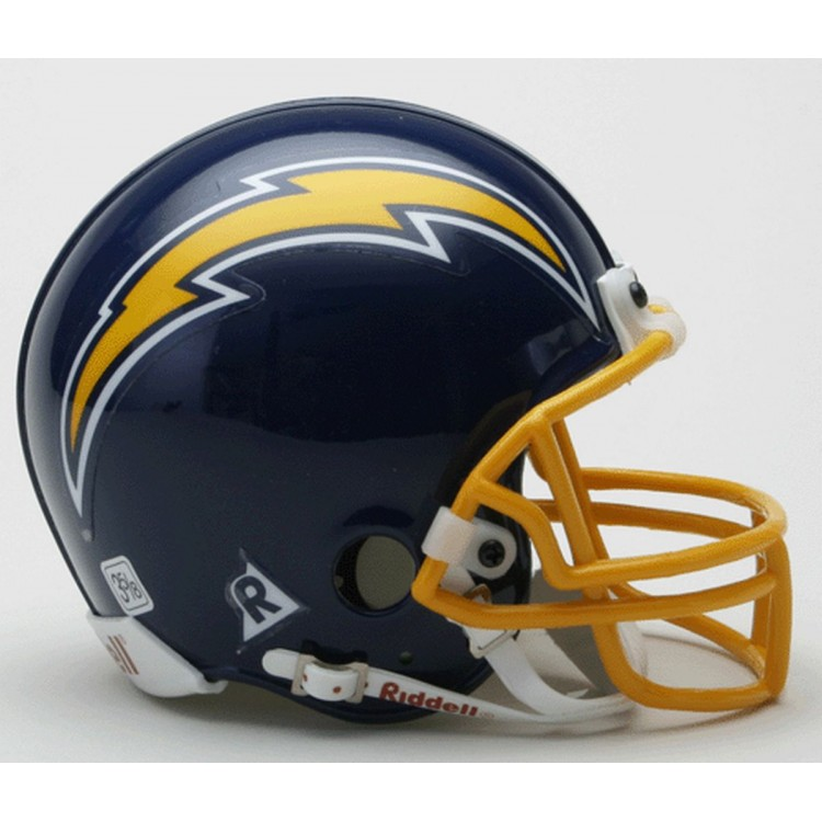 San Diego Chargers 1974-1987 Throwback Riddell Mini Football Helmet