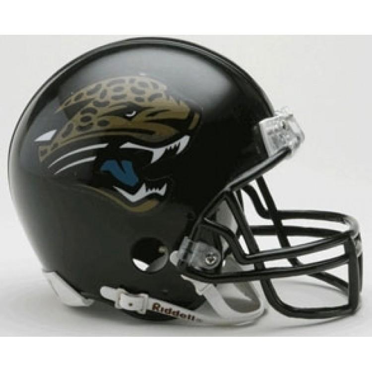 Jacksonville Jaguars 1995-2012 Throwback Riddell Mini Football Helmet