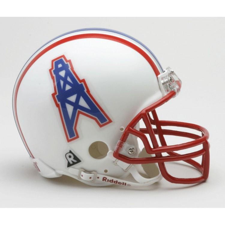 Houston Oilers 1981-1996 Throwback Riddell Mini Football Helmet