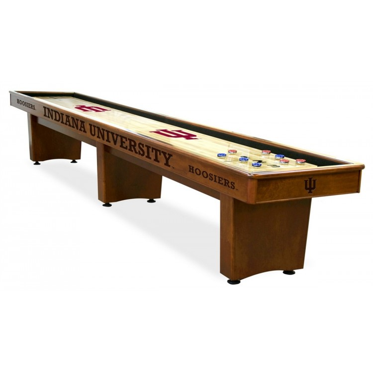Indiana Hoosiers 14' Shuffleboard Table
