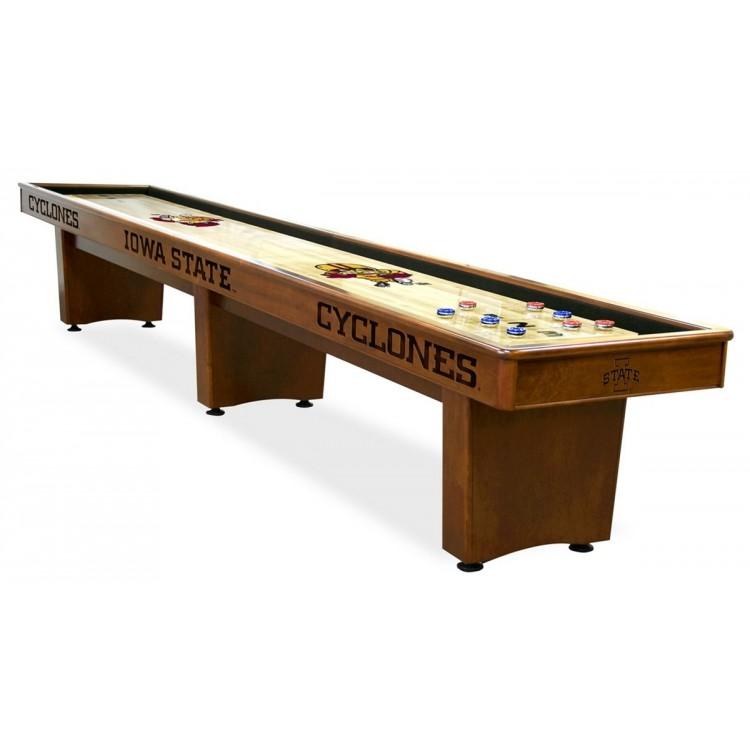 Iowa State Cyclones 14' Shuffleboard Table