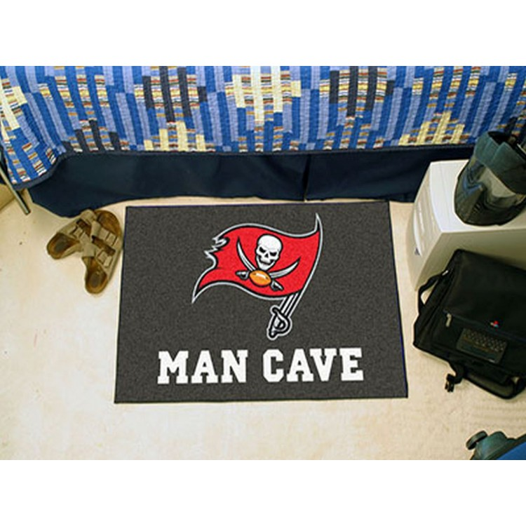 NFL - Tampa Bay Buccaneers Man Cave Starter Rug