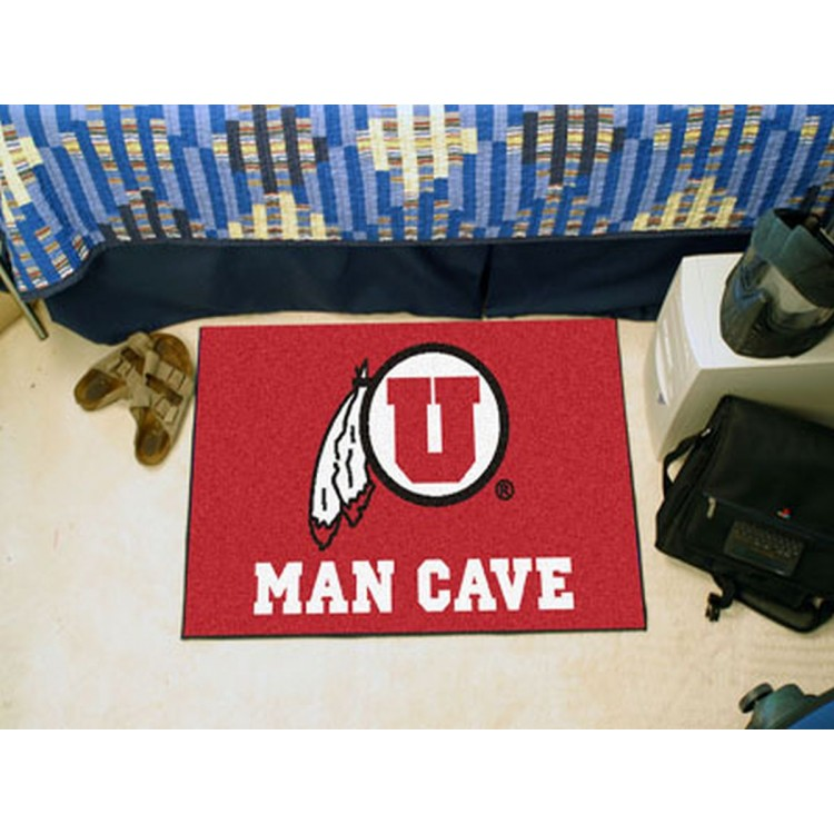 University of Utah Man Cave Starter Rug