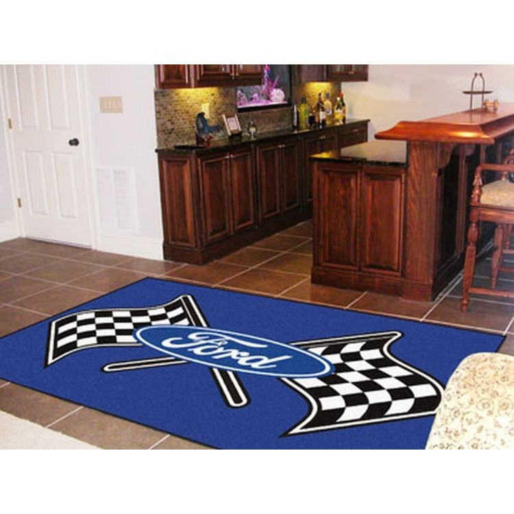 Ford - Ford Flags 5x8 Rug
