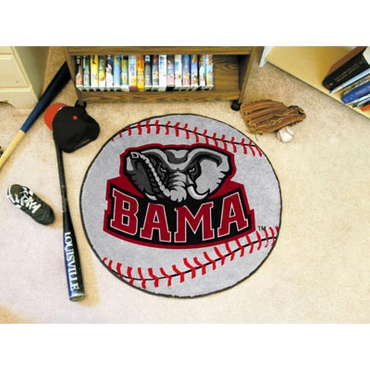 Alabama Crimson Tide Baseball Mat