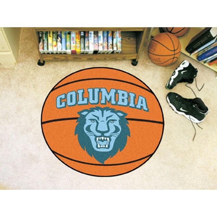 Columbia Lions Basketball Mat