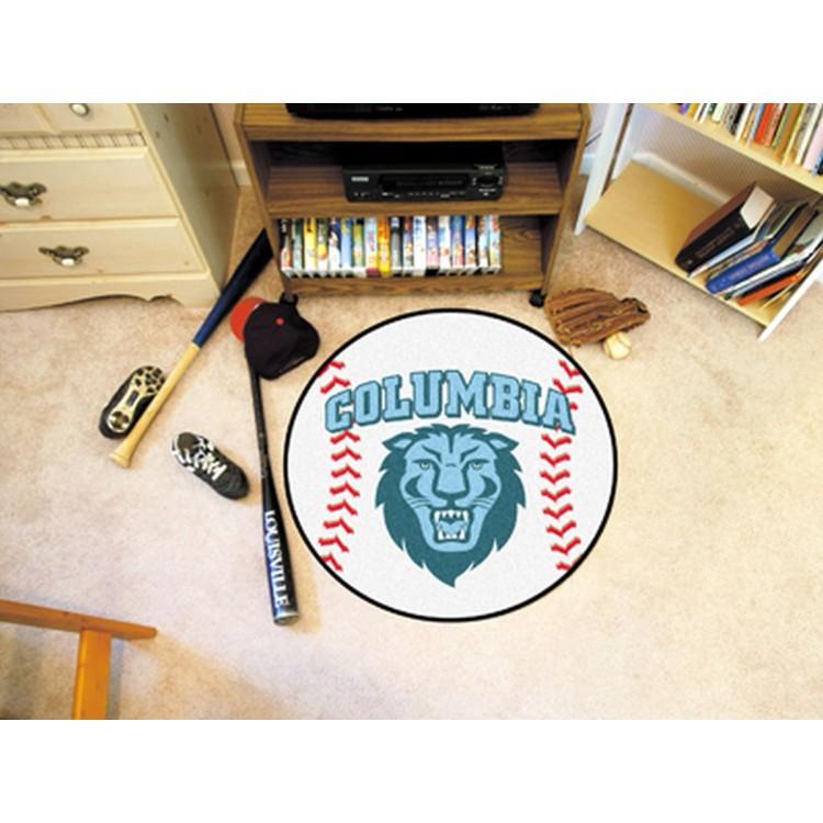 Columbia Lions Baseball Mat