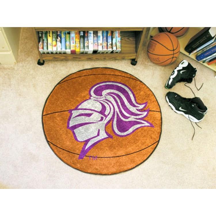 Holy Cross Basketball Mat