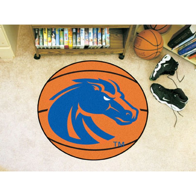Boise State University Basketball Mat