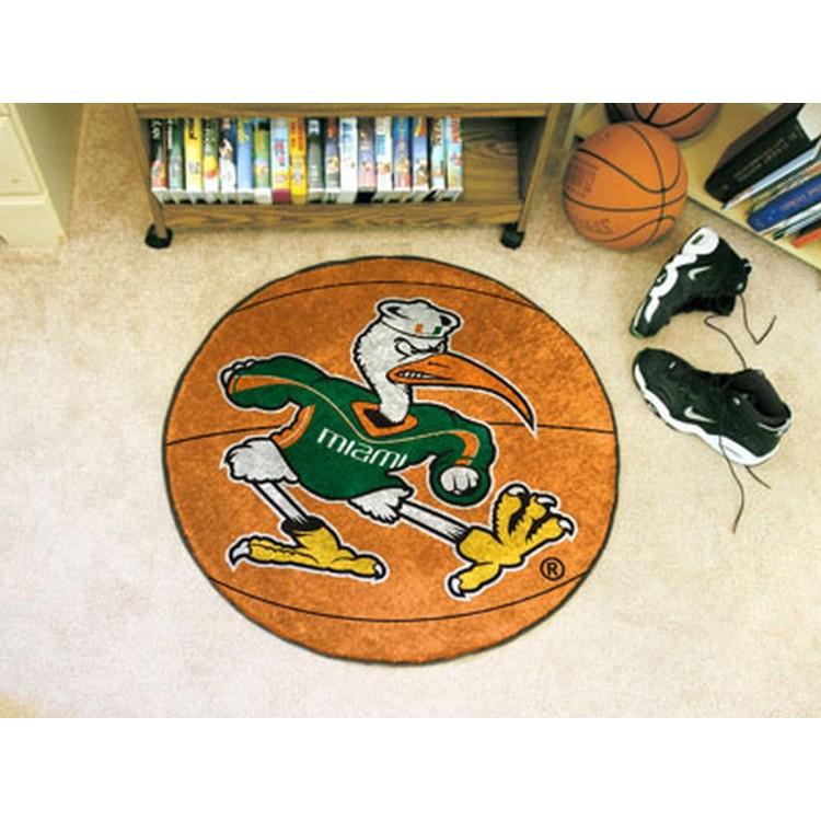 University of Miami Basketball Mat