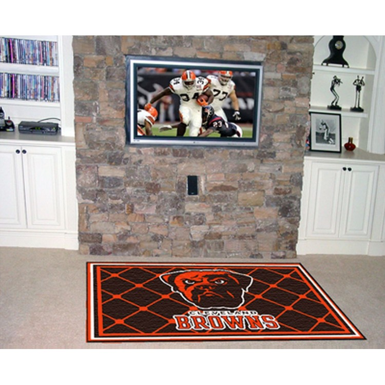 Cleveland Browns 5x8 Rug