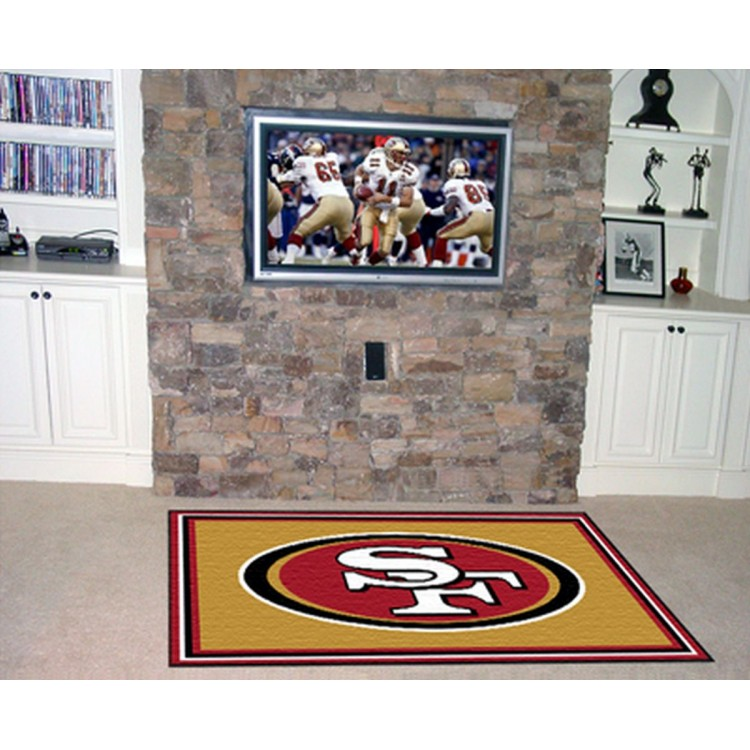 NFL - San Francisco 49ers 5x8 Rug