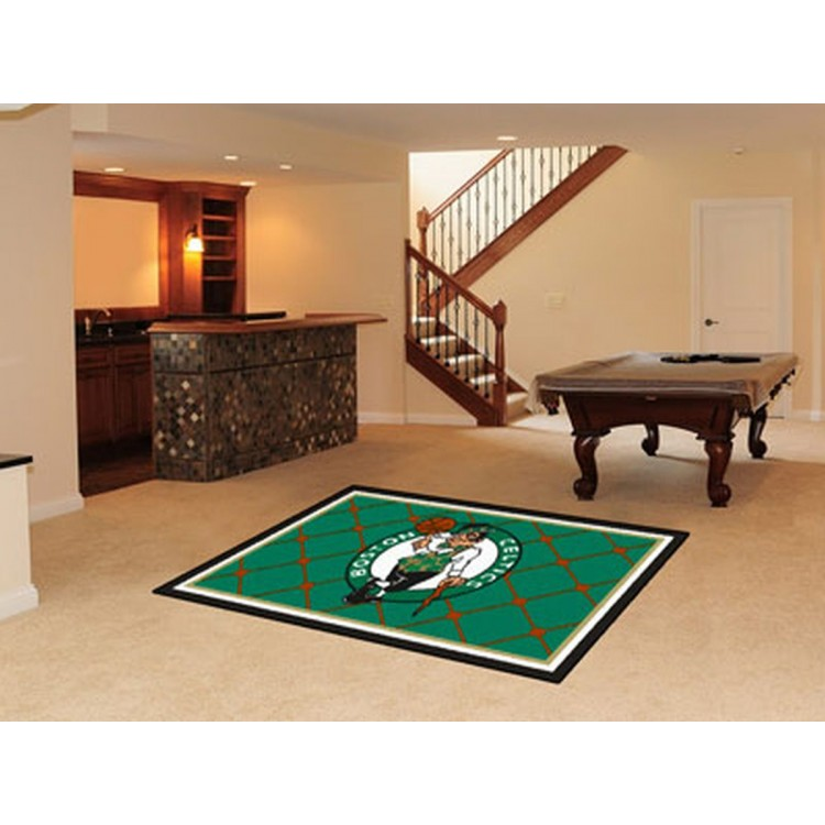 Boston Celtics 5x8 Rug