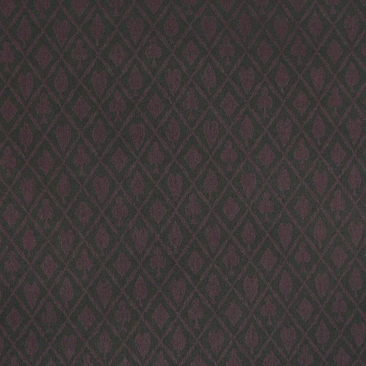 Linear Yard - Suited Purple Texas Holdem Poker Table Cloth