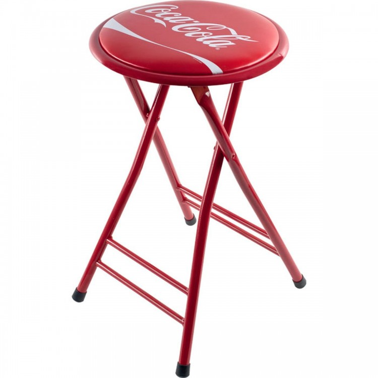 Coca-ColaR Dynamic Ribbon Device Folding Stool
