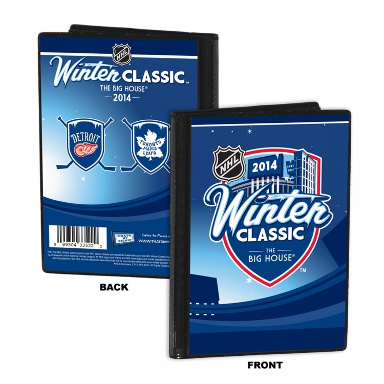 2014 NHL Winter Classic 4x6 Photo Album - Maple Leafs vs Red Wings