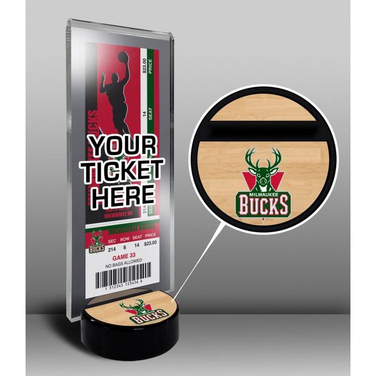 Milwaukee Bucks Ticket Display Stand